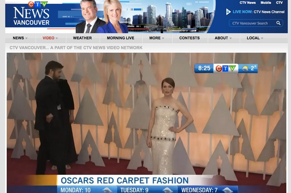 Oscar Style 2015